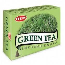 Františky - vonné kužele - Zelený čaj
