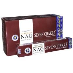 Vonné tyčinky - Nag Seven Chakra Golden